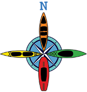 National Park Canoe & Kayak compass logo