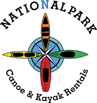 national park canoe & kayak logo